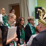 Yanina I. & Nicolai I. nehmen Glückwünsche entgegen