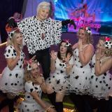 """Cruella de Vil mit ein paar Dalmatiner"""""""