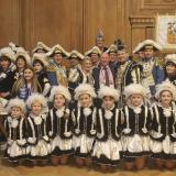 Oberbürgermeister Tischler empfängt unser Stadtprinzenpaar im RathausBürgermeisterempfang im Rathaus Bottrop