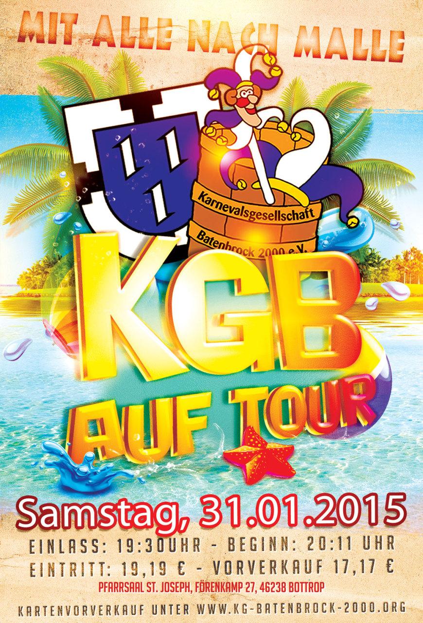 KGB auf Tour - Mit alle nach Malle KG Batenbrock 2000 e.V. Bottrop