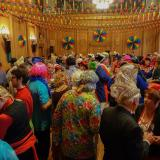 Karnevalsfeier im Ratssaal