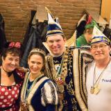 Unser Stadtprinzenpaar Ralf I. und Michelle I. feiern After-Sitzungs-Party mit uns.