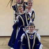 karneval-bottrop-2020-vorher-volksbank-stadtprinzenpaar