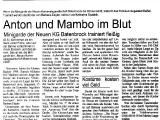 Artikel über die Minis 2001