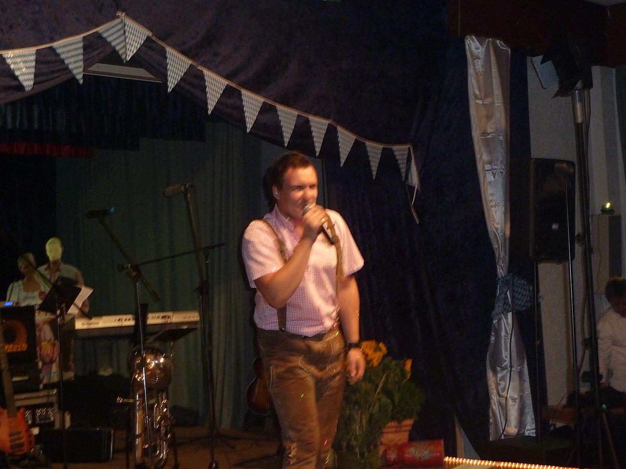 Danny Keen rockt den Saal - Oktoberfest 2012