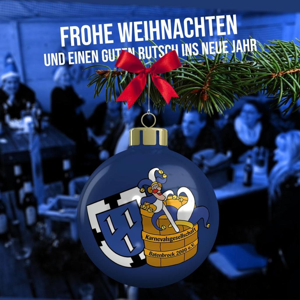 Weihnachtsgrüße Männer.Weihnachtsgrüße 2018 Alle Jahre Wieder Karnevalsgesellschaft Batenbrock 2000 E V Bottrop