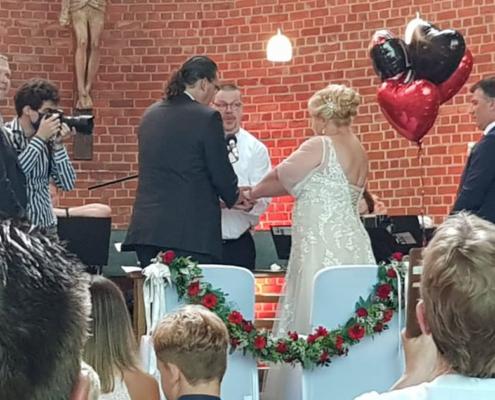 Hochzeit Melanie & Jens - Kulturkirche Bottrop